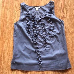 JCrew sleeveless top. Size 8. Light purple